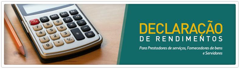 Informes para a Declaração do Imposto de Renda